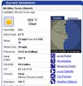 Temperature Screen Capture