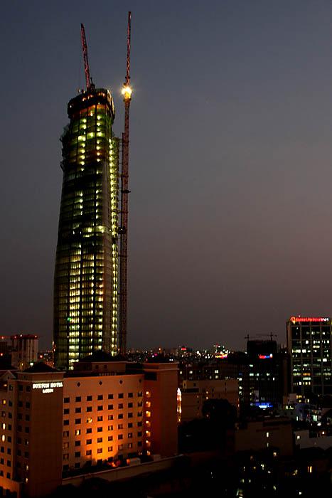 Skyscraper in Saigon